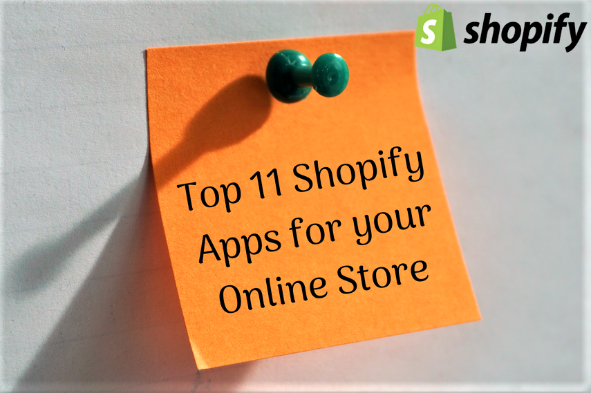 Top 11 Shopify Apps for Online Stores