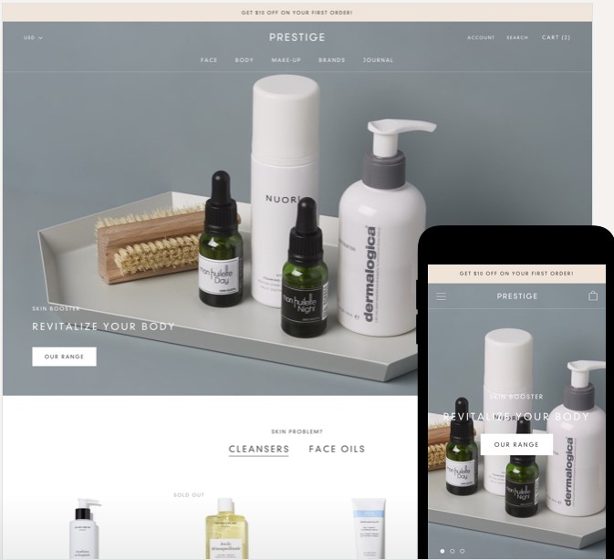 Prestige Shopify Theme