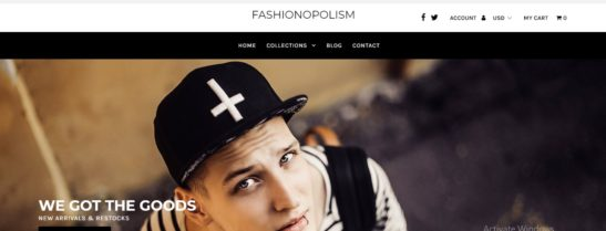 Fashionopolism Shopify Theme