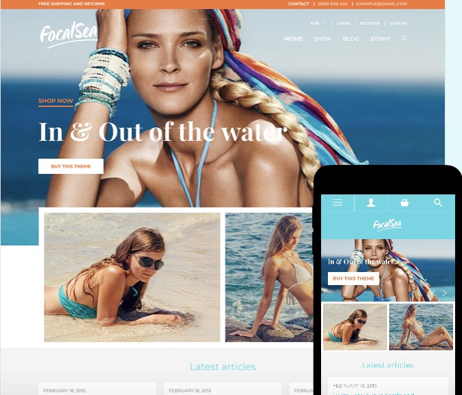 Focal Shopify Theme