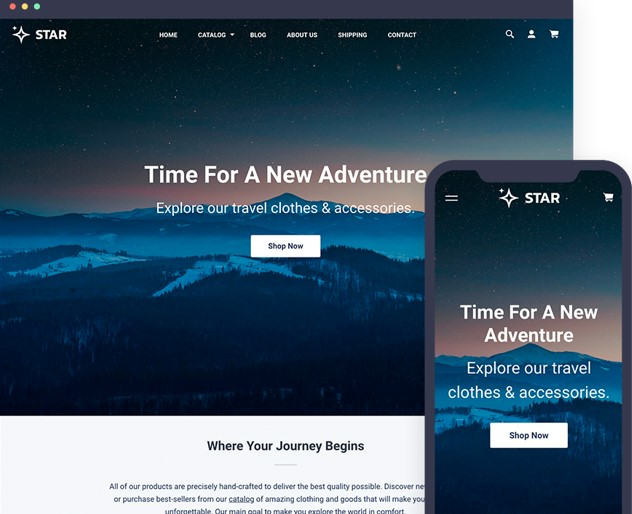 Star Shopify Theme