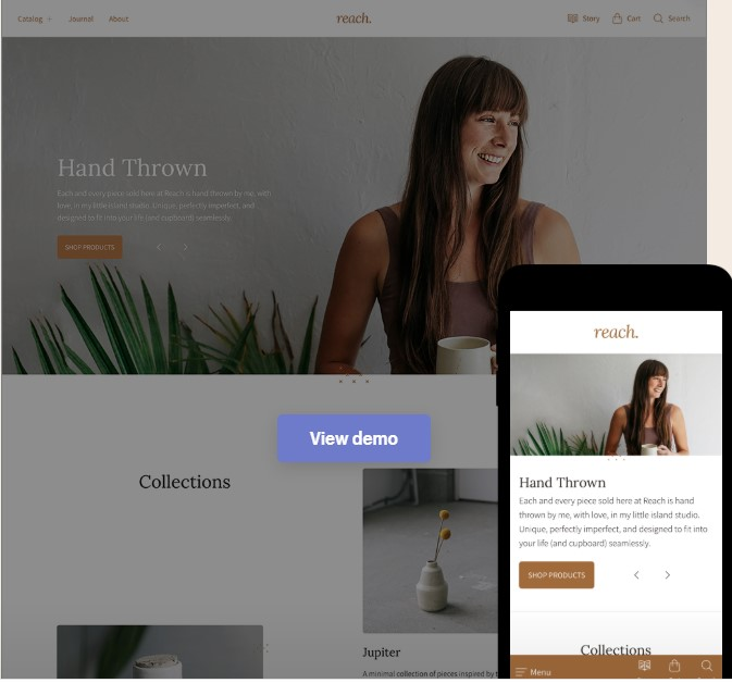 Reach Shopify Theme